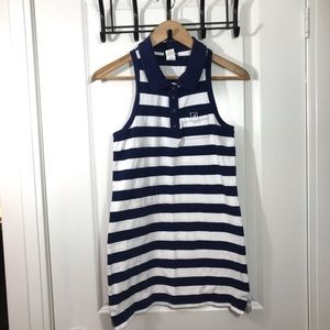 Sperry Top-Sider Blue and White Tank / Dress